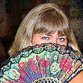 Flirting With The Fan by Mariola Bitner