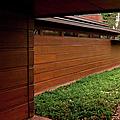 Fllw Rosenbaum Usonian House - 2 by Paulette B Wright