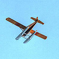 Float Plane Fly Over Pacific Northwest by Tap On Photo