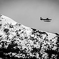 Float Plane Over The Mountain by Melinda Ledsome