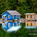 Floating Cabin by Robert Bales