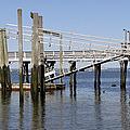 Glen Cove Floating Dock by Bob Slitzan