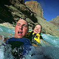 Floating Down The Little Colorado River by Tom Bear