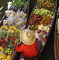 Floating Market by Christian Heeb