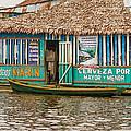 Floating Pub In Shanty Town by Allen Sheffield