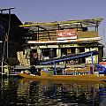 Floating Shop Along With Another Shop On Floats In The Dal Lake by Ashish Agarwal