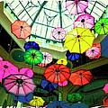 Floating Umbrellas In Las Vegas  by Susan Stone