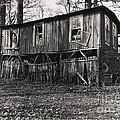 Flood House In Mississippi Delta by John Lee Montgomery III