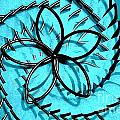 Flor Azul by Sonia Morera