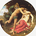 Flora And Zephyr by William Bouguereau