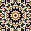 Flora Kaleidoscope by Lynne Jenkins