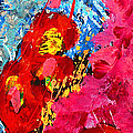 Floral Abstract Part 1 by Julia Apostolova