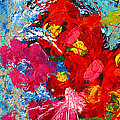 Floral Abstract Part 3 by Julia Apostolova