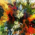 Floral Art Xiv by Tina Baxter