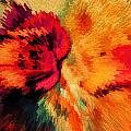 Floral Art Xxi by Tina Baxter