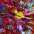Floral Art Xxiv by Tina Baxter