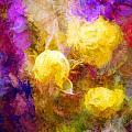 Floral Art Xxxxv by Tina Baxter
