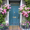 Floral Door by Peggy  McDonald