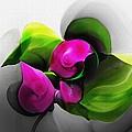 Floral Expression 111213 by David Lane