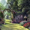 Floral Garden by Dominic Davison