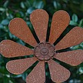Floral Metal Art by Maria Urso