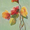 Floral Painting by Mary Wolf