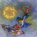 Floral Predator - Square Version by John Beck