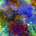 Floral Psychedelic by David Lane