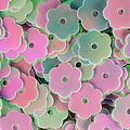 Floral Shape Sequins by Grigorios Moraitis
