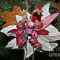 Floral Tree Ornament by Susan Herber
