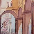 Florence Arcade by Jenny Armitage