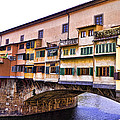Florence Italy Ponte Vecchio by Jon Berghoff
