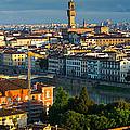 Florence Panorama by Inge Johnsson