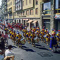 Florence Parade by Bob Phillips