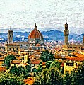 Florence Watercolor by Steve Harrington