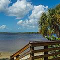 Florida Beach Sky Line. by Don Kerr
