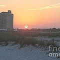 Florida Beach Sunset by Michelle Powell
