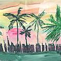 Florida City-skyline3 by Mickey Krause