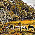 Florida Horses Two by Alice Gipson