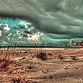 Florida Point Begining Of The Storm by Michael Thomas