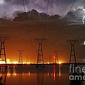 Florida Power And Lightning by Lynda Dawson-Youngclaus