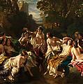 Florinda by Franz Xaver Winterhalter