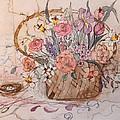 Flower Basket by Anna Sandhu Ray