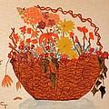 Flower Basket by Claudia  Thomas