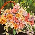 Flower Basket by Michelle Miron-Rebbe