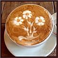 Flower Bouquet Latte Art by Susan Garren