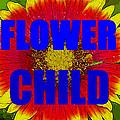 Flower Child Phone Case Work by David Lee Thompson