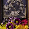 Flower Clock by Garry Gay