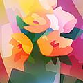Flower Deco II by Lutz Baar