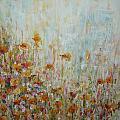 Flower Field by Cate Evans